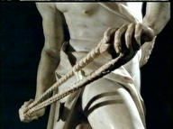 David's Sling, by Bernini